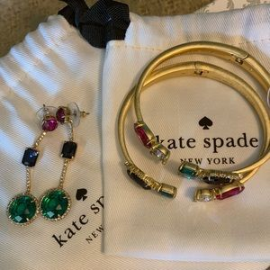 ♠️ Kate Spade Earrings and Cuffs ♠️